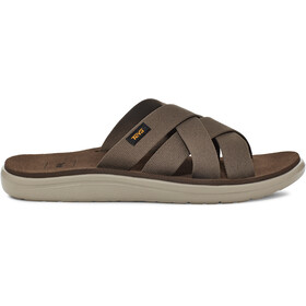 Teva Voya Slide Sandali Uomo, chocolate chip